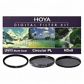 Набор фильтров HOYA Digital Filter Kit 52mm ( UV (C) HMC MULTI, PL-CIR, NDX8)